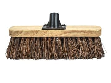 Bassine Varnished Broom Head 300mm (12in) Threaded Socket